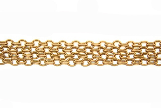 Silk chain nº1