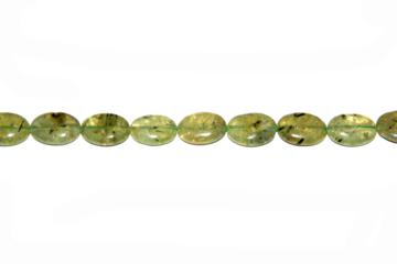 Granat green (Shape: Almond of 16x13 mm.)