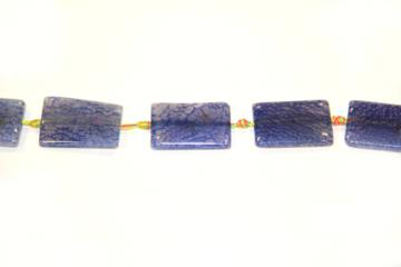 Agate blue (Shape: Tablet of 34x27 mm.)