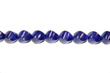 Lapizlazuli (Shape: Twister of 10x20 mm.)