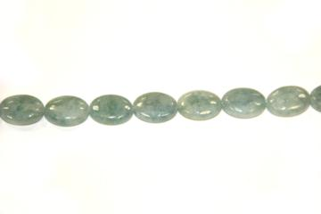 Aquamarine (Shape: Almond smooth of 18x13 mm.)