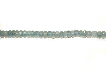 Aquamarine (Shape: Disk faceted of 4x3 mm.)
