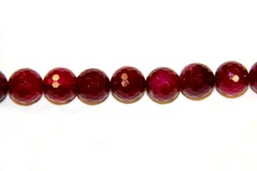 Agate rubi (Ball faceted)