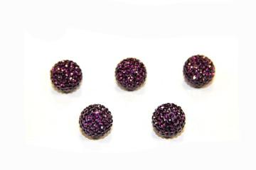 Pave amethyst color (Ball)
