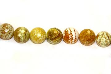 Agate lemon (Ball faceted)